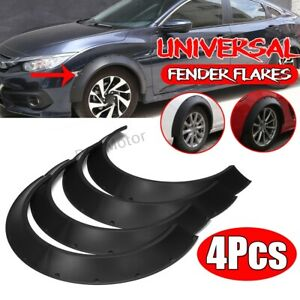Truck Fender 4pcs Wide Wheel Kit Body Universal Wheel Arches Cover Flares Car