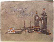 BUICK Canada gamme 1926 Original Voiture sales brochure