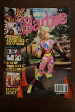 Barbie Magazine Awesome Adventures a Disneyland July/August 1995