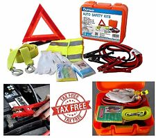 Roadside Emergency Kit Portable Auto Set Car Tool Bag 8 Piece Vehicle Safety Kit