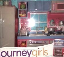 18 Inch Doll Journey Girls Gourmet 100+pc Kitchen Retired Exclusive ToysRus Play