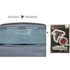 NFL Atlanta Falcons Car Truck Suv Windshield Decal Sticker with Bonus