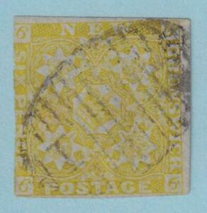 CANADA - NEW BRUNSWICK 2 USED - 1.5 MM PAPER FLAW - EXTRA FINE!