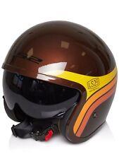 LS2 Spitfire Sunrise Brown Helmet XL
