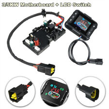 2 Pcs Car Air Diesel Heater 5KW 12V/24V Motherboard Monitor LCD Controller