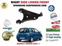 Pour Renault Twingo 2007- > avant Droit Bras de Suspension Inférieur + Balle