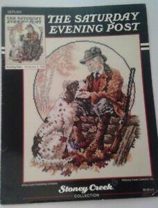 Saturday Evening Post Hunting Pals Stoney Creek Collection Cross Stitch Pattern