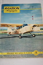 AVIATION MAGAZINE N°131-1955 ALPES EN PLANEUR MEDECINS PARAS JASKOLKA SZD8