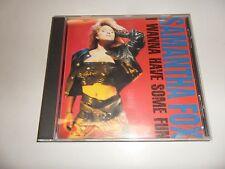CD SAMANTHA FOX-i wanna have some fun