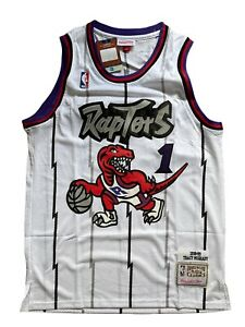 NWT Tracy McGrady #1 Toronto Raptors White Men's Basketball Jersey