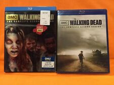 Walking Dead: Season 2 (BluRay Disc, 4-Disc Set)w/ LENTICULAR SLIPCOVER- NEW