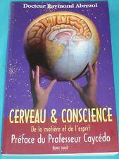 Cerveau et conscience de Docteur Abrezol,  9782912663221