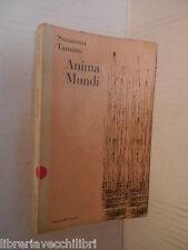 ANIMA MUNDI Susanna Tamaro Baldini & Castoldi 1997 libro romanzo narrativa di