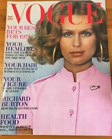 VOGUE Magazine January 1st 1971;  Pre-Owned; Lauren Hutton (Cover)