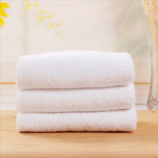 Useful Soft Bath Towels Set Soft Plush Cotton Hotel Resort SPA White