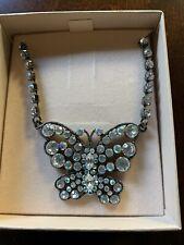 Crystal Necklace Kirks Folly Butterfly
