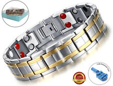 Health Magnetic Bracelet Carpal Tunnel Relief Arthritis Bio Therapy Chronic Pain