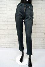 Pantalone Donna ROCCOBAROCCO Taglia Size 25 Jeans Alto in Vita Pants Woman