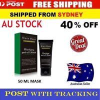 Blackhead Remover Nose Face Mask Strip Black Head Pore Acne Clean Mud