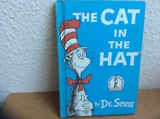 """Dr. Seuss 1957 Vintage """"the Cat in the hat"""" written 1st edition"""