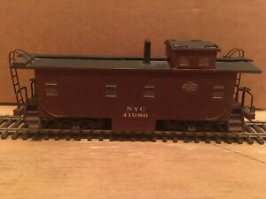 HO New York Central Wood Caboose NYC #41986
