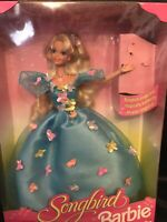 Songbird Barbie Doll w Real Singing Songbird 1995 #14320 NRFB