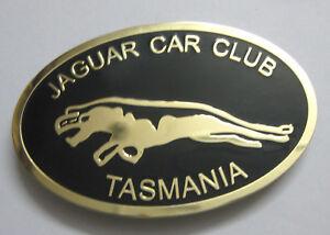 JAGUAR CLUB OF TASMANIA CAR GRILL BADGE EMBLEM MG JAGUAR TRIUMPH PORSCHE FERARI