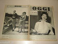 OGGI=1953/34=AVA GARDNER=LEONIDE MASSINE=GIANNA MANZINI=SPINA CITTA ETRUSCA=
