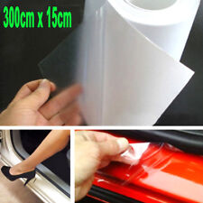 "6""x 118"" Clear Car Door Sill Edge Paint Protection Vinyl Film Sheet Anti Scratch"