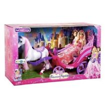 New Exclusive Barbie Princess And The Popstar Horse and Carriage Christmas