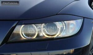 PERFORMANCE STYLE HEADLIGHTS EYEBROWS  FOR BMW 3 SERIES E90 E91