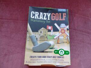 Crazy Golf Stationery Set
