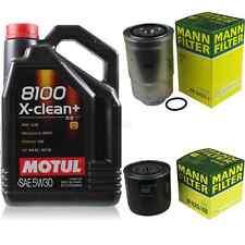 MOTUL 5L MOTOR-ÖL+MANN-FILTER für Nissan X-Trail T30 2.2 dCi 4x4 NP300 D22 2.5