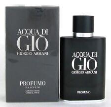 Acqua Di Gio Profumo by Giorgio Armani 2.5 oz. Parfum Spray for Men. New in Box
