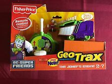FISHER PRICE GEOTRAX JOKER ENGINE GEO TRACKS REMOTE CONTROL TRAIN COLLECTOR TOY