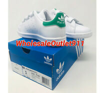 Adidas Little Kids Originals Stan Smith Size 1 Sneakers Shoes FREE PRIORITY SHIP