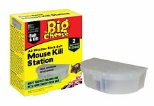 Big Cheese STV137 Ready To Use Mouse Kill Station 2 Pack All Weather Block Bait