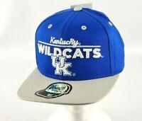 Kentucky Wildcats UK Outer Stuff Blue Flat Bill Snapback YOUTH Hat/Cap NEW