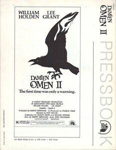 Damien: Omen II (1978) Pressbook  - free shipping