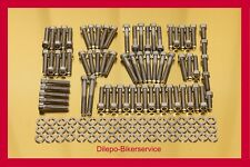 Harley Davidson V-Rod stainless steel bolt kit motor engine cover screws 140 pcs