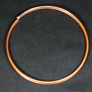 Kupferrohr weich 3mm x 0,5mm 1m Ring / geglüht