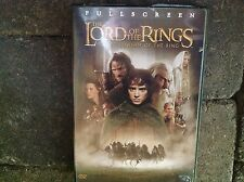 The Lord of the Rings Fellowship of the Ring DVD Movie Full Screen 2 Two Discs