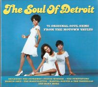 The Soul Of Detroit - 75 Original Soul Gems From Motown Vaults 3CD NEW/SEALED