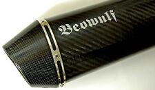 Suzuki GSF650 Bandit (07 >) Beowulf Silenciador De Escape Silenciador Garantía De Por Vida