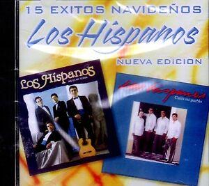 LOS HISPANOS - 15 EXITOS NAVIDEÑOS - CD