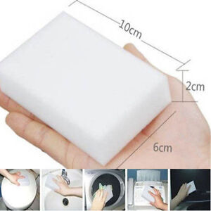 MAGIC CLEANING SPONGE MULTI FUNCTION STAIN ERASER FOAM CLEANER PADS 1,2,4 or 10