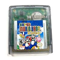 Super Mario Brothers Deluxe NINTENDO GAMEBOY COLOR w/ New Save Battery!
