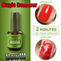 15ml Burst Magic Nail Polish Remove Gel  Soak Off Base Top Coat Clean Degreaser