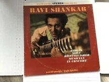 (Ex) Ravi Shankar In Concert 12 in Vinyl LP