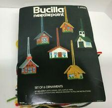 Bucilla Vintage Needlepoint Kit - Set of 6 Ornaments